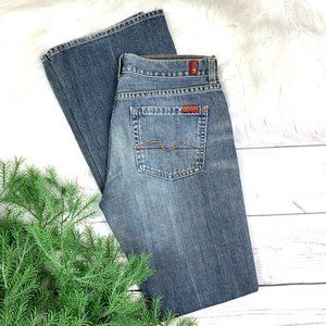 👖|•7 FOR ALL MANKIND•| Boot Cut Jeans 30x33👖